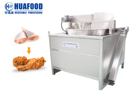 Semi automatic fryer
