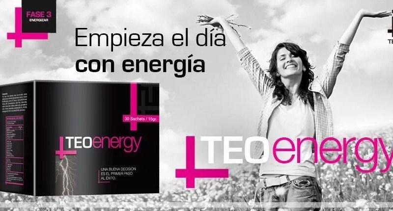 Vitaminas Teoma TEOenergy Caja x 30 sachets 15gr