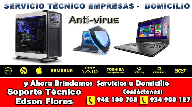 Servicio Técnico Computadoras en Ayacucho