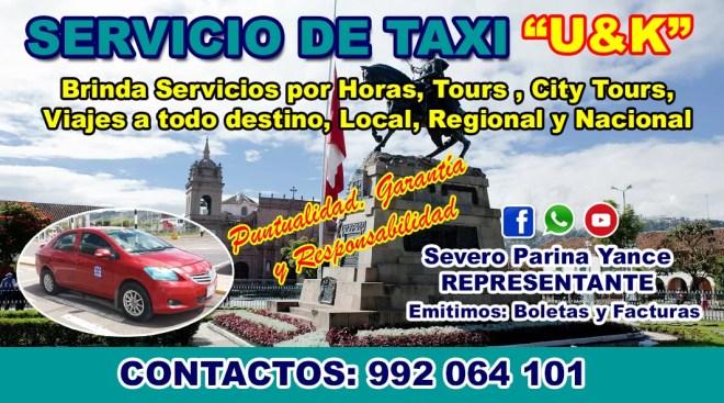 Empresa de Servicio de Taxi en Ayacucho