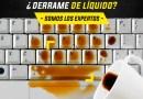 Derrame de liquido Laptops