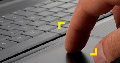 Reparación de touchpad