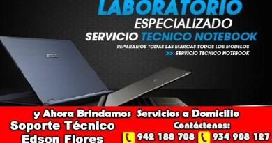 Servicios Técnico Laptops Ayacucho