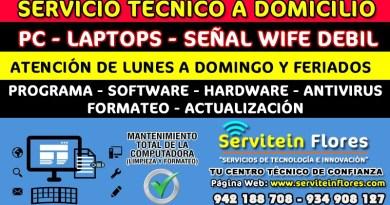 Soporte tecnico en Ayacucho Huamanga Vraem