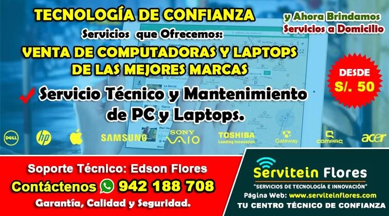 Servicio de Soporte Informatico Ayacucho