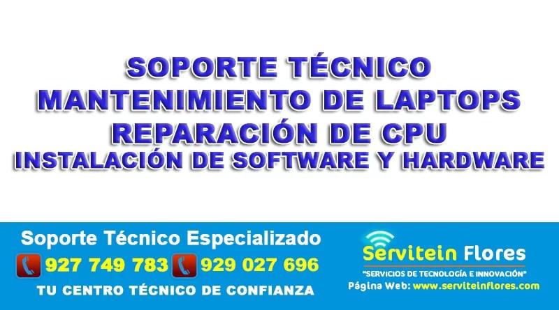 Soporte tecnico Ayacucho Huanta