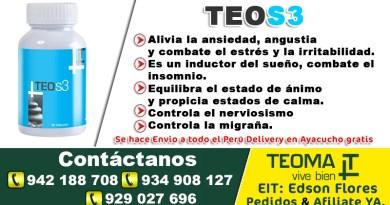 TEO S3 FRASCO DE 90 CÁPSULAS TEOMA