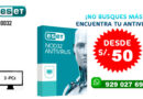 ANTIVIRUS ESET NOD32 Home Edition 2020 (3pc)