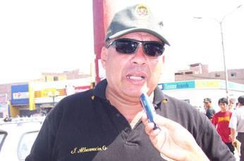 Comandante de Huaral Juan Albarracin