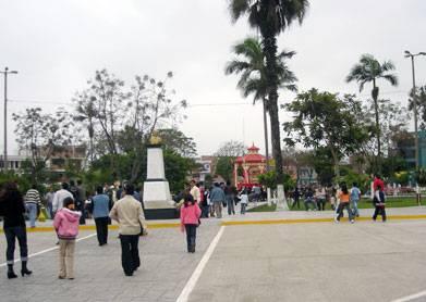 Plaza de Armas del Distrito de Chancay