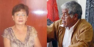 Consejera Regional  Nelly Tang y  Alcalde  de Huaral Jaime Uribe Ochoa