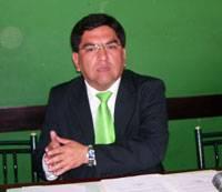 José Ramos Casasola, en conferencia de prensa realizada ayer.
