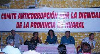 Comité anticorrupción de Huaral