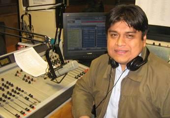 Cabina de Radio La mega 94.3- Lima