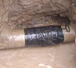 Parchado de tubo