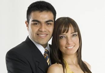 Nocholas y Celine Aguirre