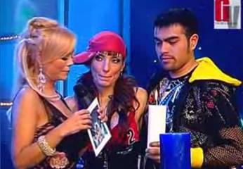 Nicholas y Celine Aguirre.
