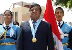 Alcalde de la Municipalidad Provincial de Huaura, Pedro Zurita Paz