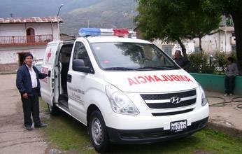 Ambulancia moderna