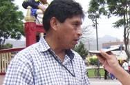 Secretario del Sutep de Chancay William Mendoza