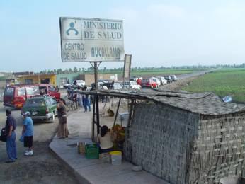 Ovalo de aucallama carretera Huaral a Lima