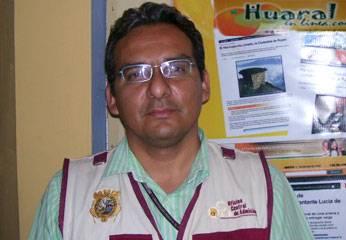 Auxiliar de educación de la Universidad San Marcos, Víctor Bazan Rodríguez