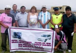 La asociacion ATSMEMP, organizador del  IV campeonato de futbol.