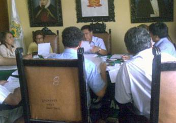 Foto archivo: Sesion Consejo Chancay