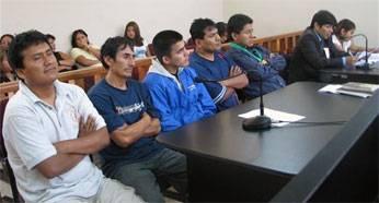 Fueron internados por el delito de robo agravado en grave tentativa