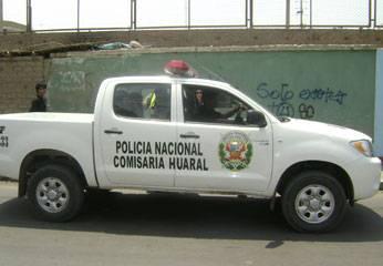 Policía de Huaral.