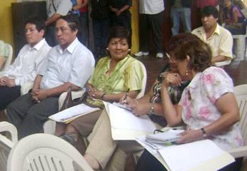Grover Susaníbar Valerio, Julio  Sánchez Mena, Gavi Pardo Paredes,  Inés Risco Segunda Torres Espinoza