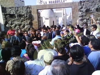 Restos mortales de Juan Silvestre descansan en cementerio La Huaquilla.