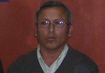 Víctor Ramírez Dávila, Secretario General del Sindicato de Trabajadores de la Municipalidad  de Huaral.