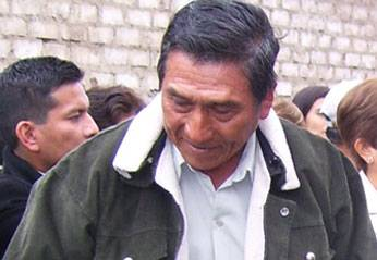 Alcalde del distrito de Sumbilca.