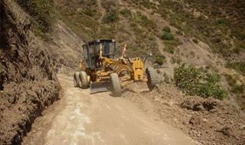 Rehabilitación y limpieza de carreteras.
