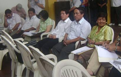 Regidores de la provincia de Huaral.