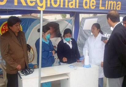 A treinta casos asciende el número de pacientes contagiados con el virus de la influenza AH1N1 en la región de Lima