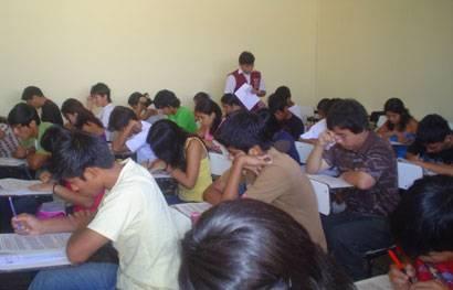 Examen San Marcos Foto archivo.