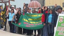 El evento tuvo lugar en la Plaza de Armas de Aucallama.