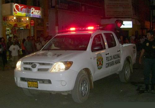 Policía de Huaral. Foto archivo.