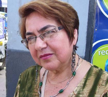 Ex Alcaldesa de Huaral Carmen Carvallo