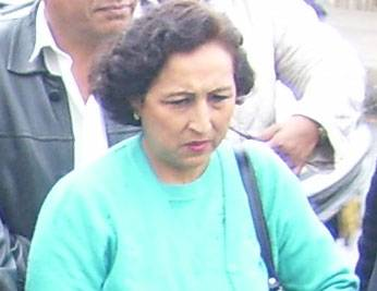 Regidora Gina Pérez