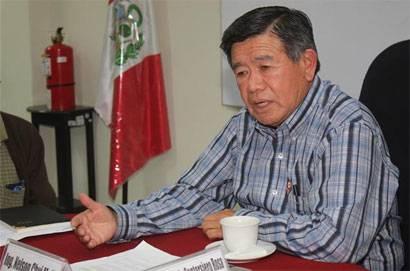 Presidente regional de Lima Nelson Chui.