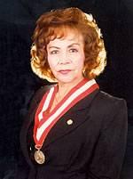 Jefa de la Oficina de Control de la Magistratura Dra. Elcira Vásquez Cortez