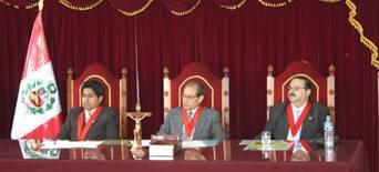 Jueces superiores del Poder Judicial de Cañete.