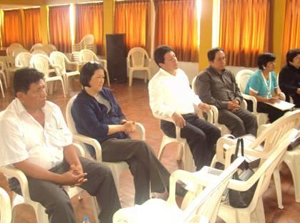 Sesión de Concejo Muncipal 2009