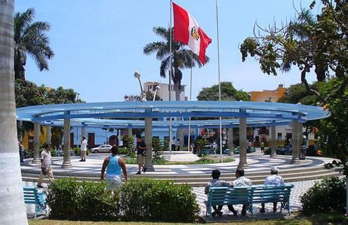 Plaza de Armas de Huacho