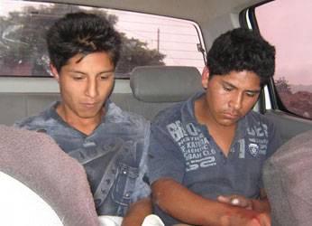 Ambos fueron trasladados a la comisaría de Huaral.