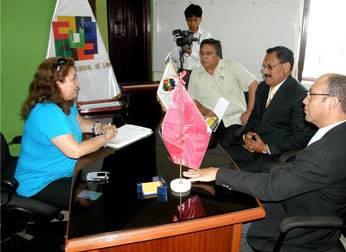 Entrega de Cargo Dirección Regional de Educación de Lima Provincias.