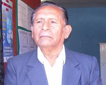 Julio Celedonio Advíncula alcalde de Atavillos Bajo